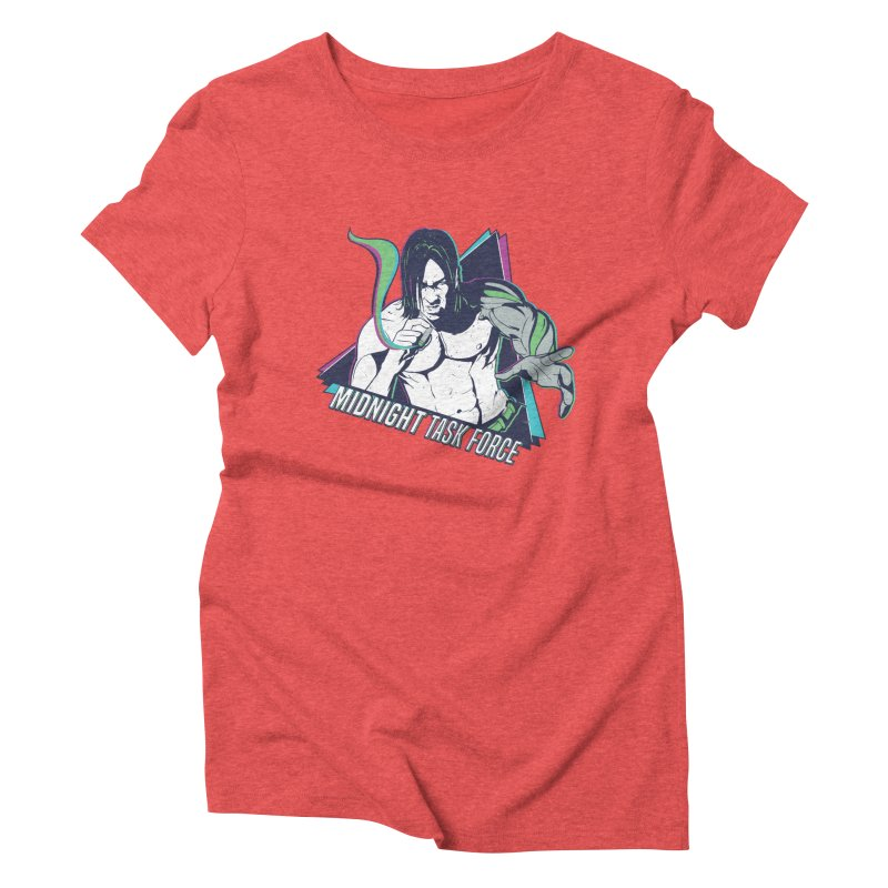 Aiden McCormick - Midnight Task Force Women's Triblend T-Shirt by Mad Cave Studios's Artist Shop
