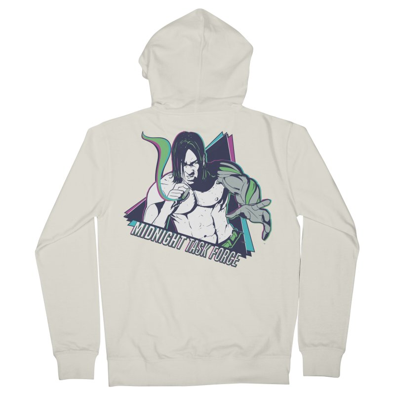 Aiden McCormick - Midnight Task Force Women's Zip-Up Hoody by Mad Cave Studios's Artist Shop
