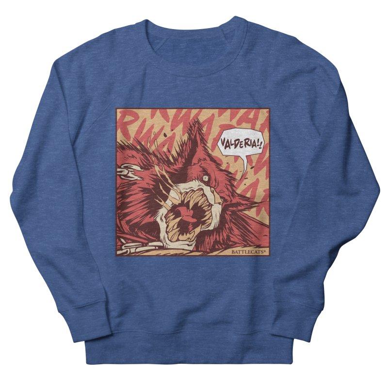 Battlecats Pop Art - Valderia! Men's French Terry Sweatshirt by MadCaveStudios's Artist Shop