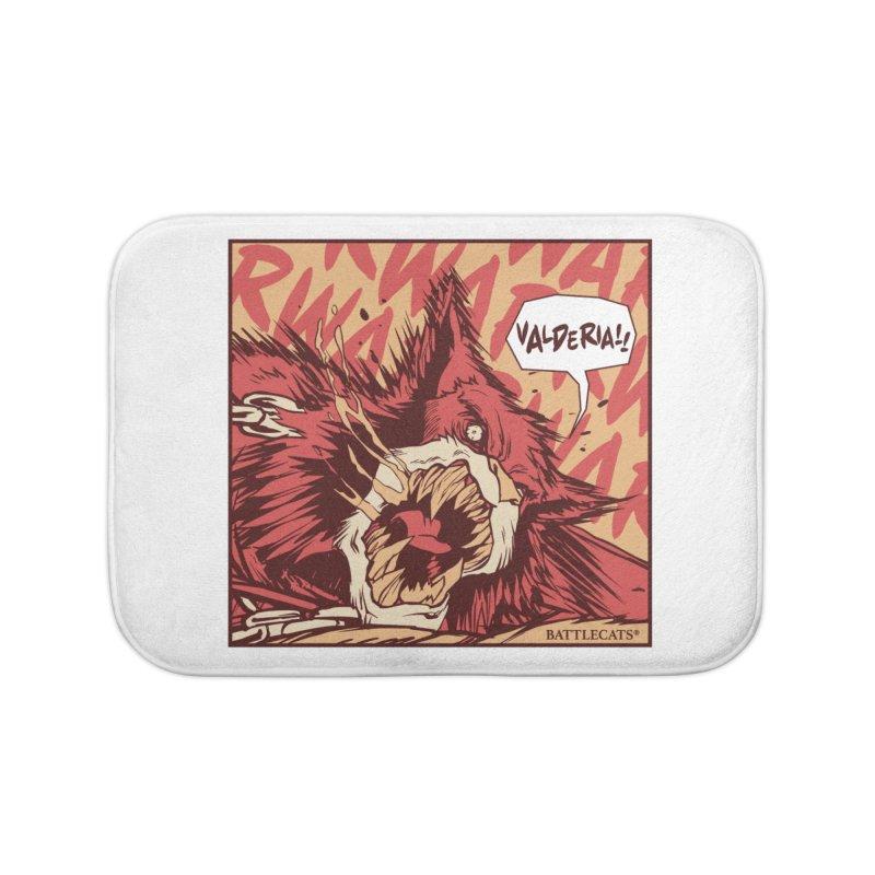 Battlecats Pop Art - Valderia! Home Bath Mat by Mad Cave Studios's Artist Shop