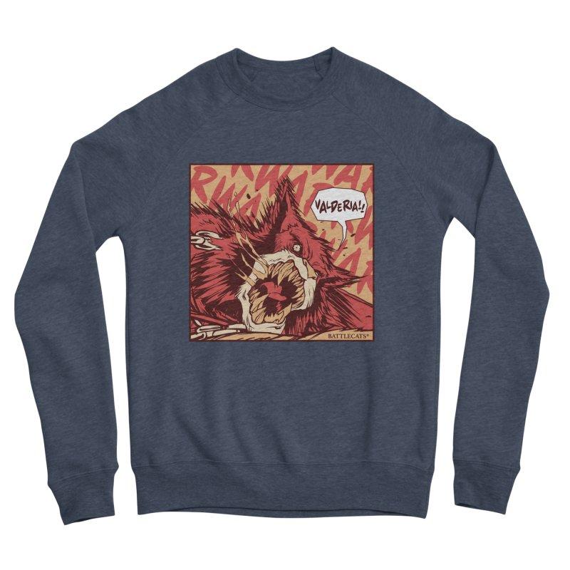 Battlecats Pop Art - Valderia! Women's Sponge Fleece Sweatshirt by Mad Cave Studios's Artist Shop