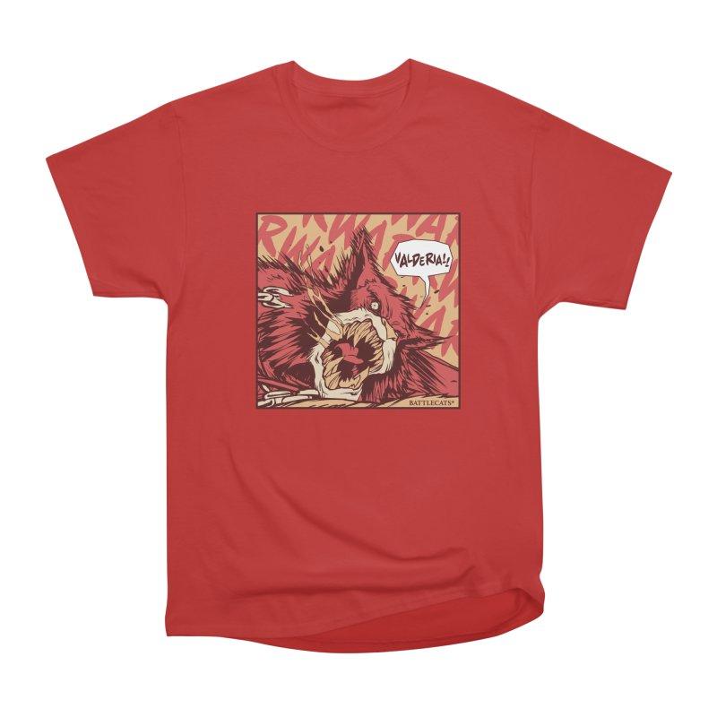 Battlecats Pop Art - Valderia! Women's Heavyweight Unisex T-Shirt by Mad Cave Studios's Artist Shop