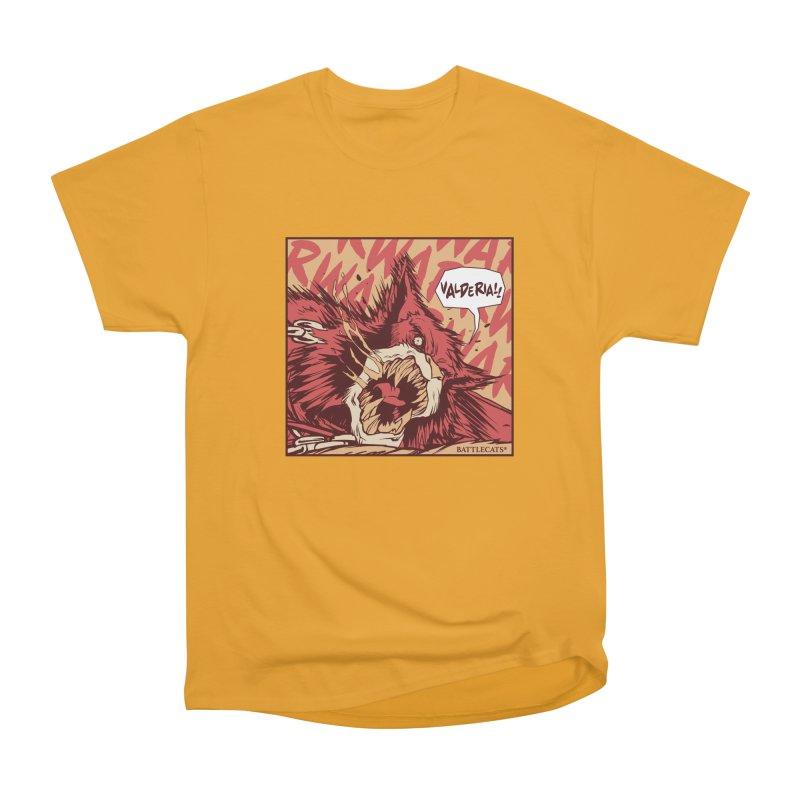 Battlecats Pop Art - Valderia! Men's Heavyweight T-Shirt by Mad Cave Studios's Artist Shop