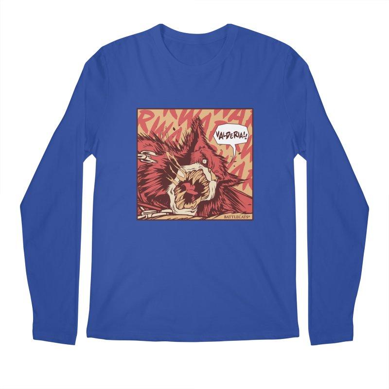 Battlecats Pop Art - Valderia! Men's Regular Longsleeve T-Shirt by Mad Cave Studios's Artist Shop