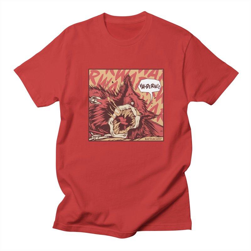 Battlecats Pop Art - Valderia! Women's Regular Unisex T-Shirt by MadCaveStudios's Artist Shop