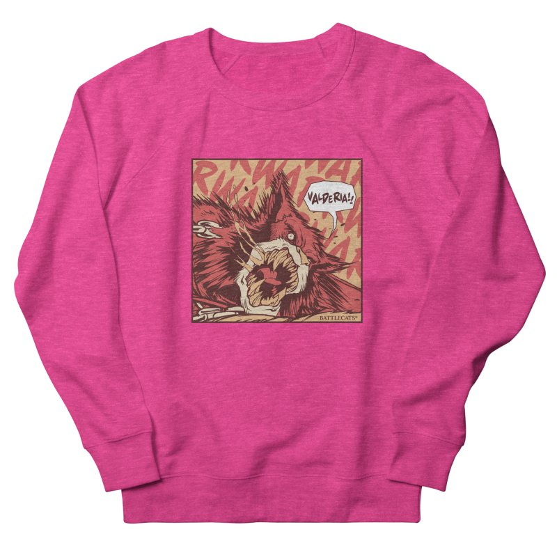 Battlecats Pop Art - Valderia! Women's French Terry Sweatshirt by Mad Cave Studios's Artist Shop