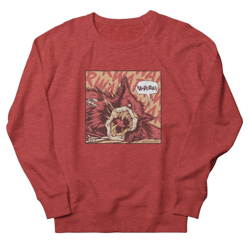 Battlecats Pop Art - Valderia! Men's French Terry Sweatshirt by Mad Cave Studios's Artist Shop