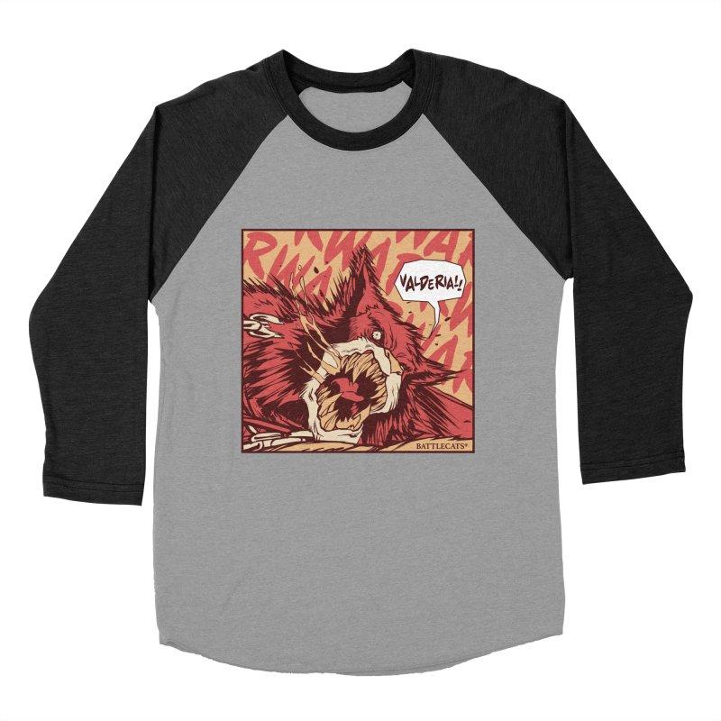 Battlecats Pop Art - Valderia! Women's Baseball Triblend Longsleeve T-Shirt by Mad Cave Studios's Artist Shop