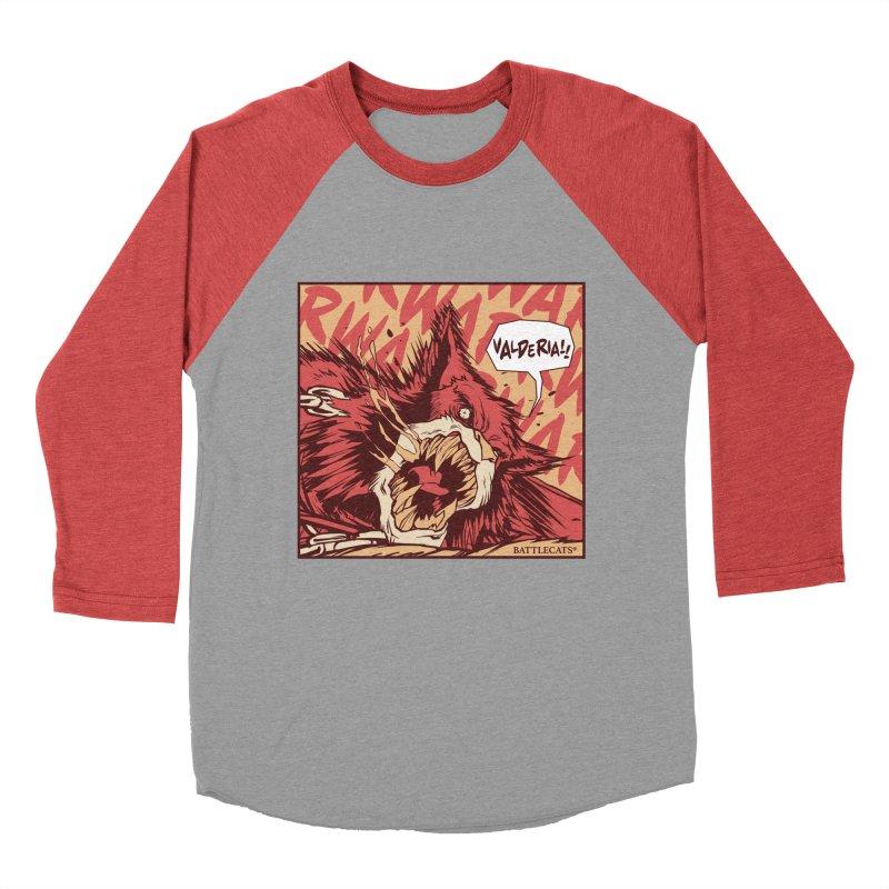 Battlecats Pop Art - Valderia! Men's Baseball Triblend Longsleeve T-Shirt by Mad Cave Studios's Artist Shop