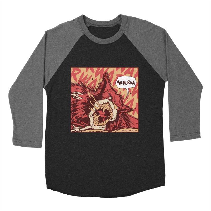 Battlecats Pop Art - Valderia! Men's Baseball Triblend Longsleeve T-Shirt by MadCaveStudios's Artist Shop