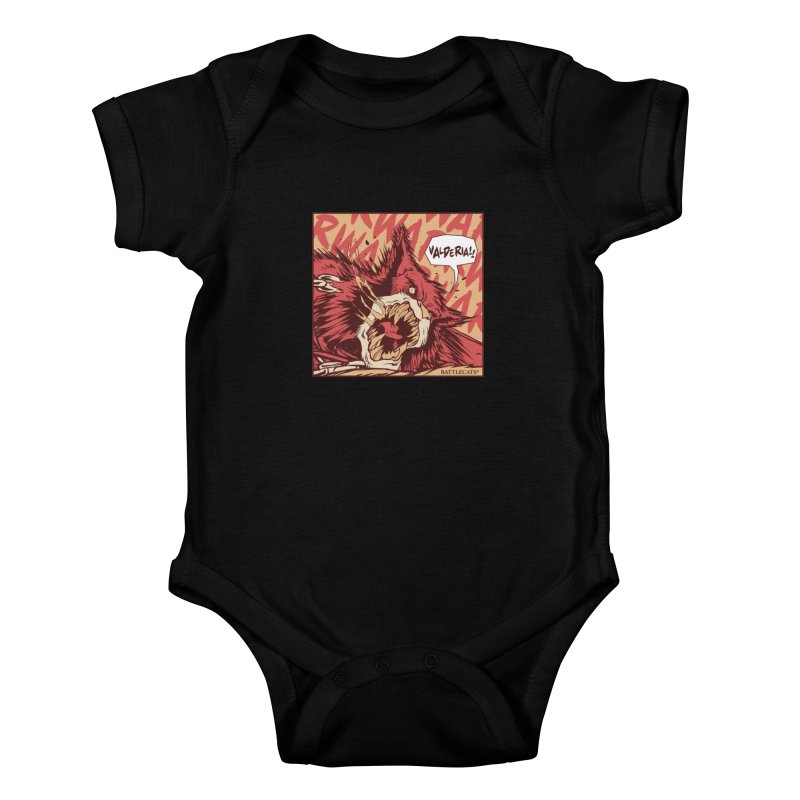 Battlecats Pop Art - Valderia! Kids Baby Bodysuit by MadCaveStudios's Artist Shop