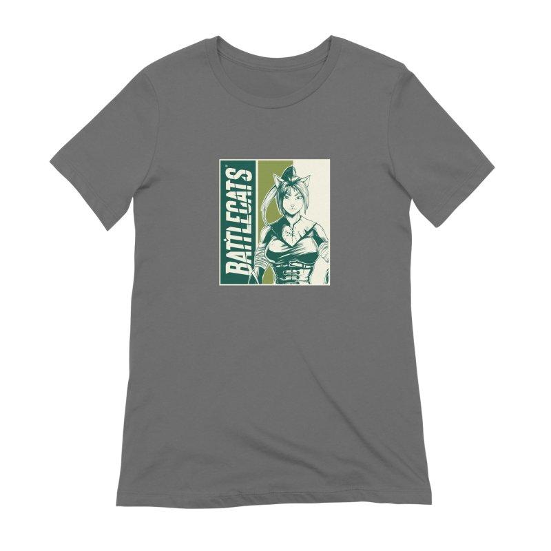 Battlecats - Kaleera Women's Extra Soft T-Shirt by Mad Cave Studios's Artist Shop
