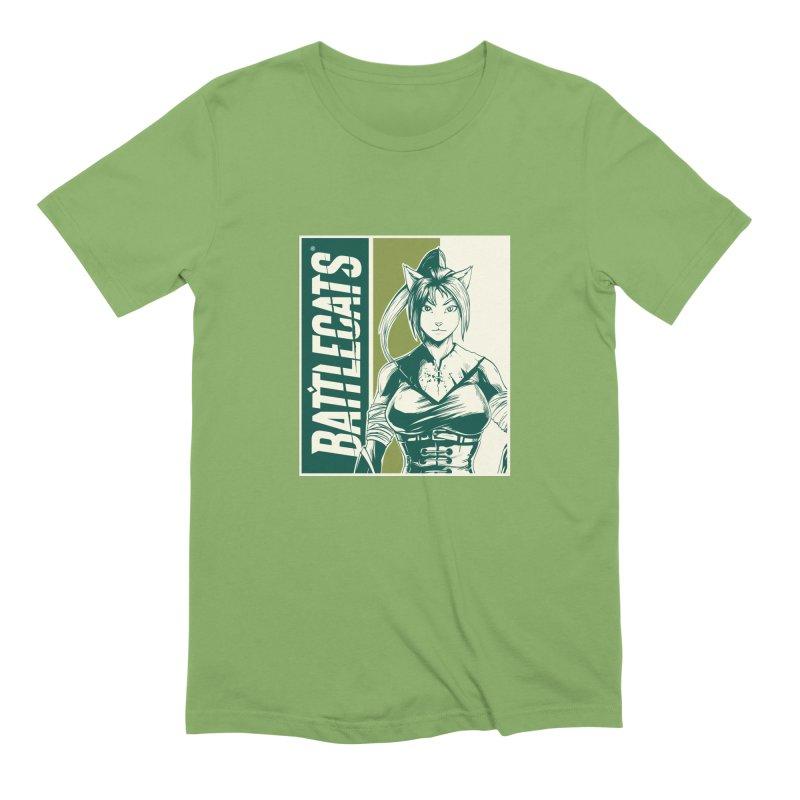 Battlecats - Kaleera Men's Extra Soft T-Shirt by Mad Cave Studios's Artist Shop