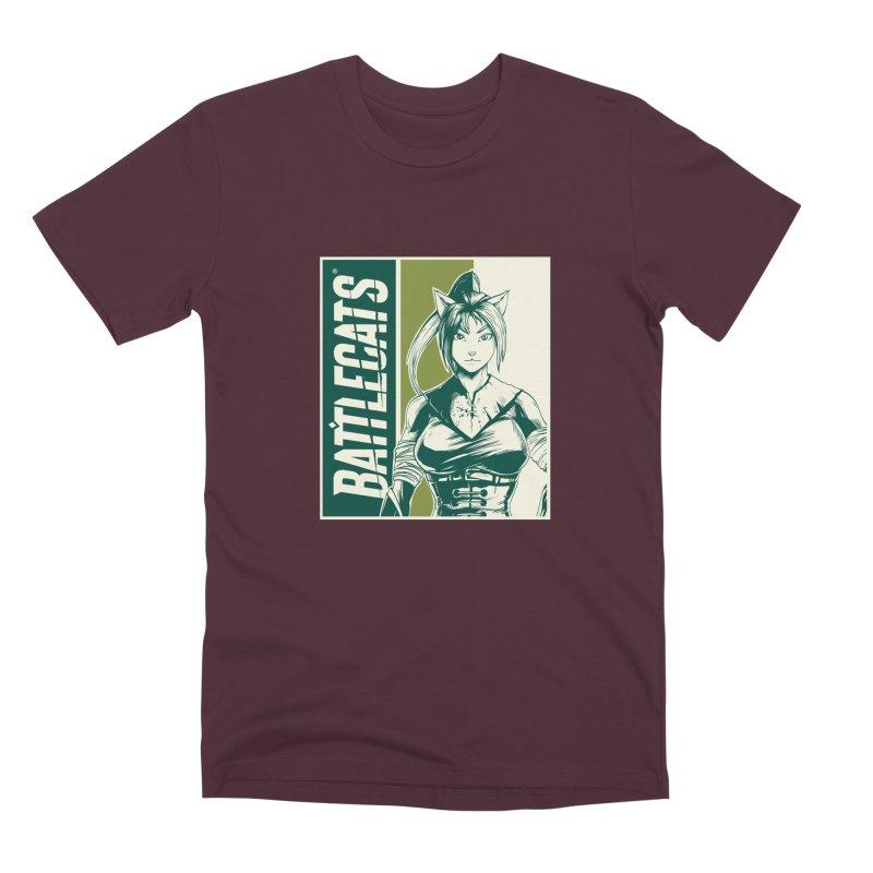 Battlecats - Kaleera Men's Premium T-Shirt by Mad Cave Studios's Artist Shop