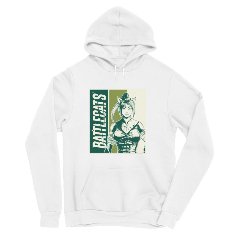Battlecats - Kaleera Men's Sponge Fleece Pullover Hoody by Mad Cave Studios's Artist Shop