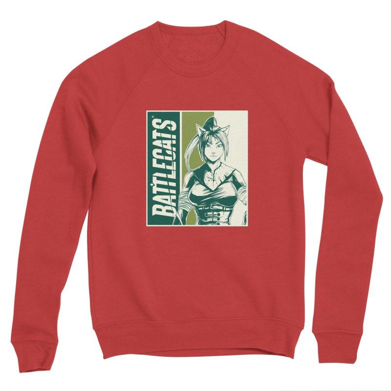 Battlecats - Kaleera Women's Sponge Fleece Sweatshirt by Mad Cave Studios's Artist Shop