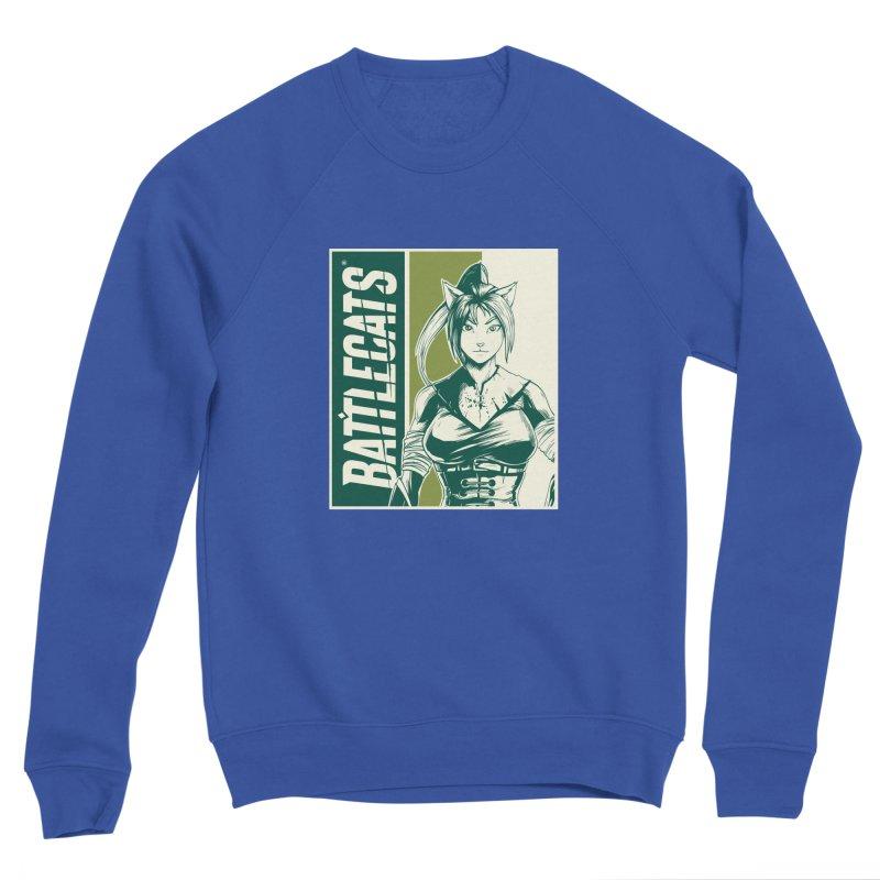 Battlecats - Kaleera Men's Sponge Fleece Sweatshirt by Mad Cave Studios's Artist Shop