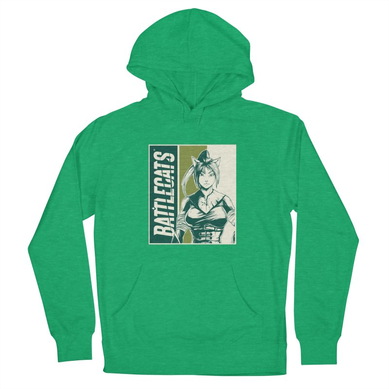 Battlecats - Kaleera Women's French Terry Pullover Hoody by Mad Cave Studios's Artist Shop