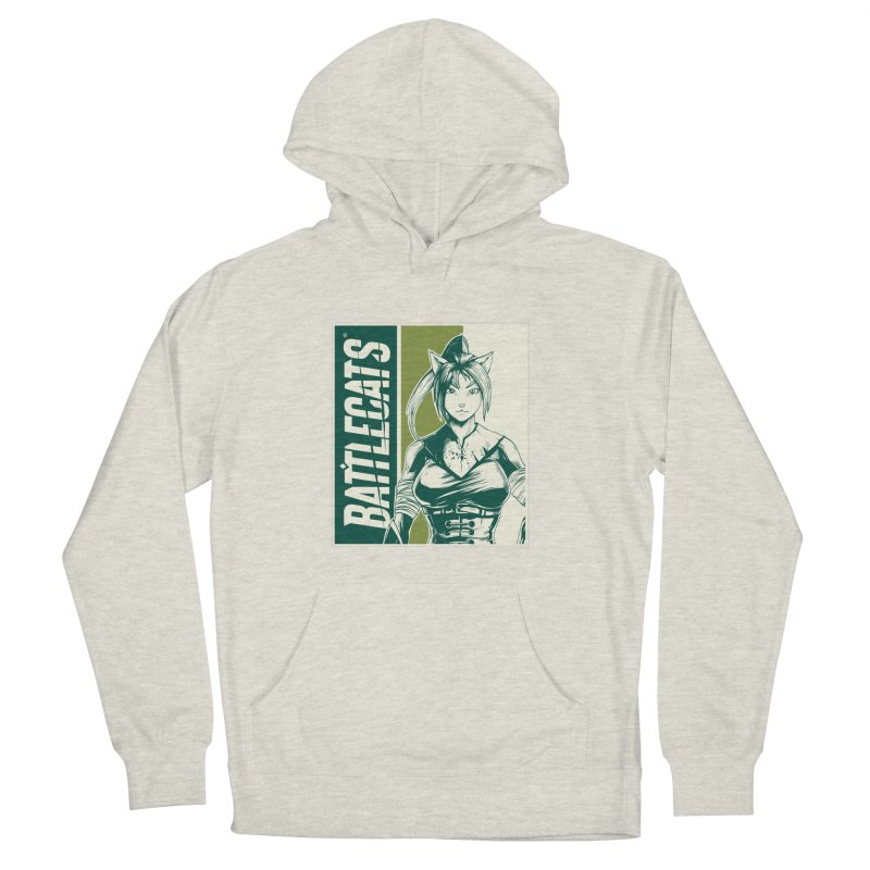 Battlecats - Kaleera Men's French Terry Pullover Hoody by Mad Cave Studios's Artist Shop