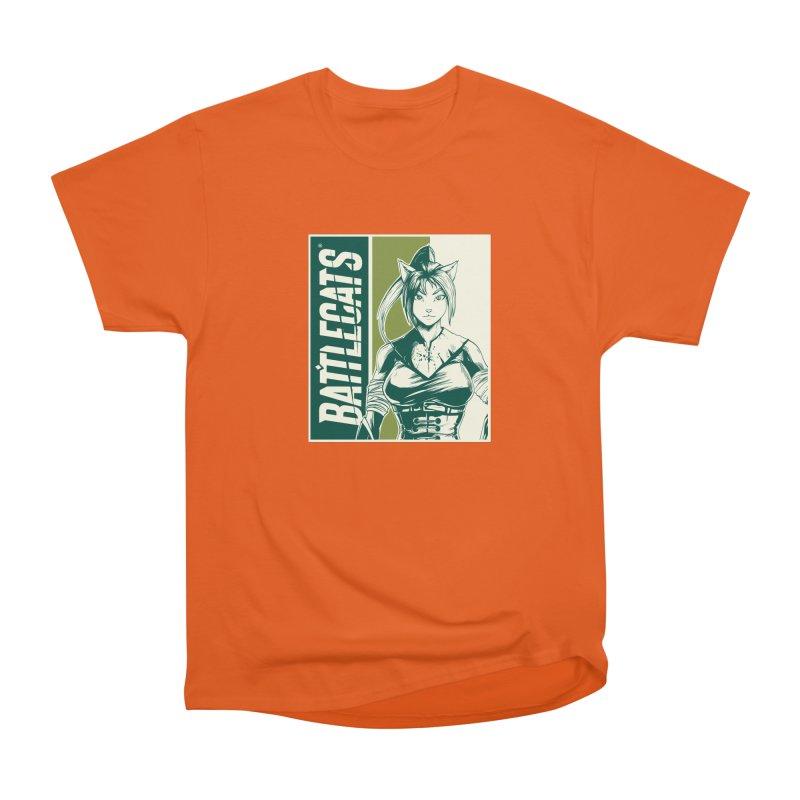 Battlecats - Kaleera Men's Heavyweight T-Shirt by Mad Cave Studios's Artist Shop
