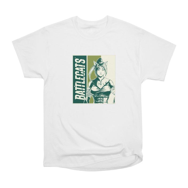 Battlecats - Kaleera Women's Heavyweight Unisex T-Shirt by Mad Cave Studios's Artist Shop