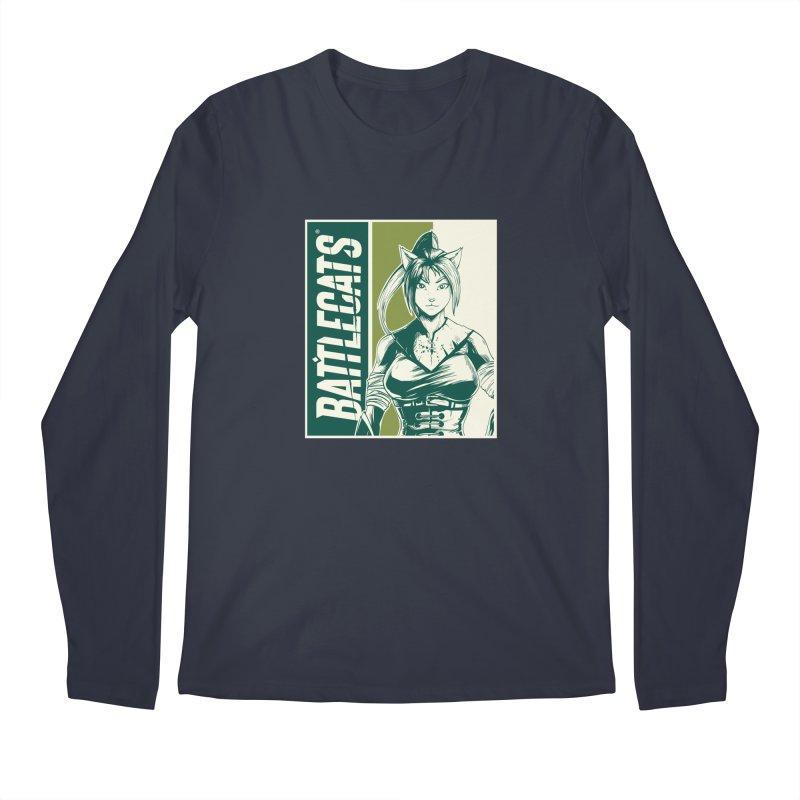 Battlecats - Kaleera Men's Regular Longsleeve T-Shirt by MadCaveStudios's Artist Shop
