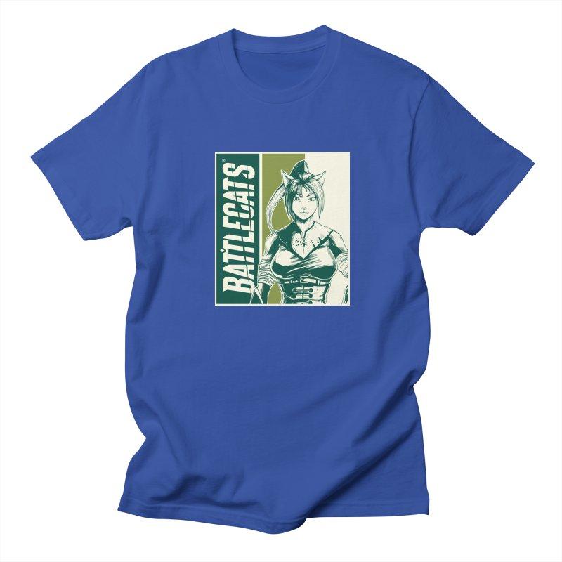 Battlecats - Kaleera Men's Regular T-Shirt by Mad Cave Studios's Artist Shop