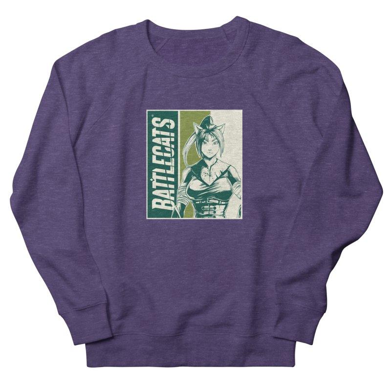 Battlecats - Kaleera Women's French Terry Sweatshirt by Mad Cave Studios's Artist Shop