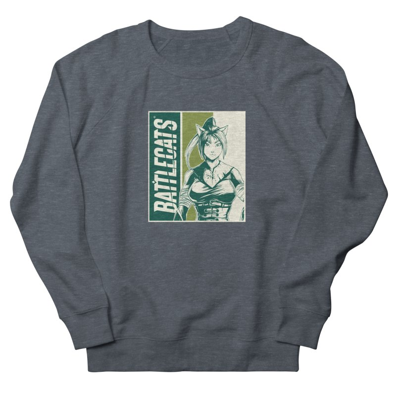 Battlecats - Kaleera Women's French Terry Sweatshirt by Mad Cave Studios's Artist Shop