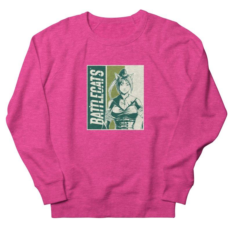Battlecats - Kaleera Women's French Terry Sweatshirt by MadCaveStudios's Artist Shop