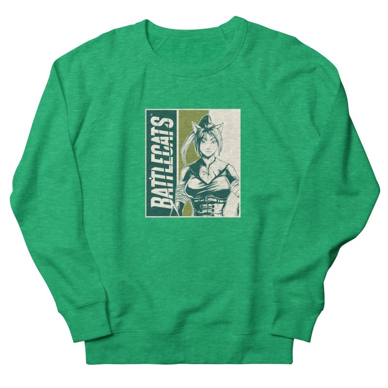 Battlecats - Kaleera Men's French Terry Sweatshirt by Mad Cave Studios's Artist Shop