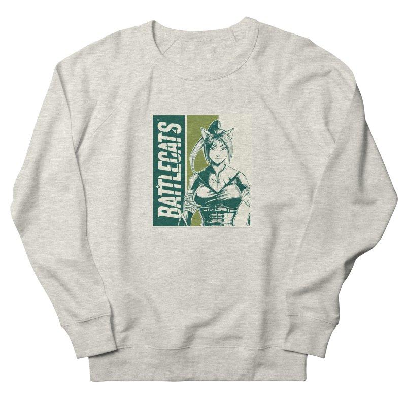 Battlecats - Kaleera Men's French Terry Sweatshirt by Mad Cave Studios's Artist Shop