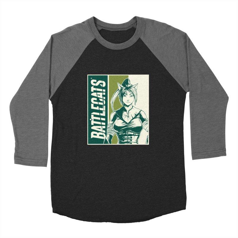 Battlecats - Kaleera Women's Baseball Triblend Longsleeve T-Shirt by MadCaveStudios's Artist Shop