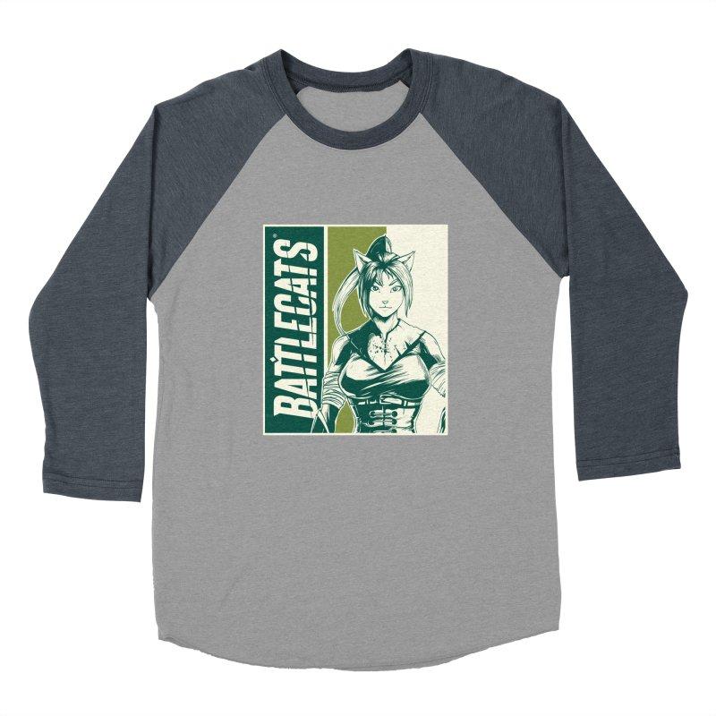 Battlecats - Kaleera Women's Baseball Triblend Longsleeve T-Shirt by Mad Cave Studios's Artist Shop