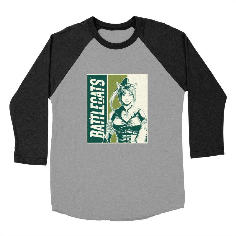 Battlecats - Kaleera Men's Baseball Triblend Longsleeve T-Shirt by MadCaveStudios's Artist Shop