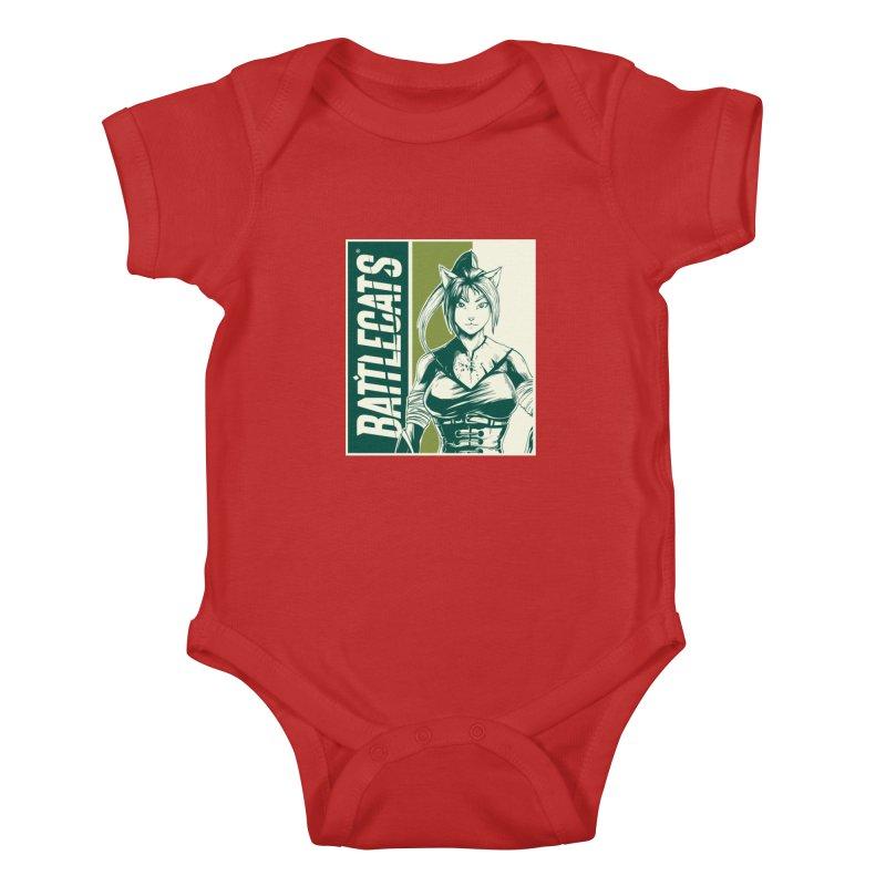 Battlecats - Kaleera Kids Baby Bodysuit by MadCaveStudios's Artist Shop