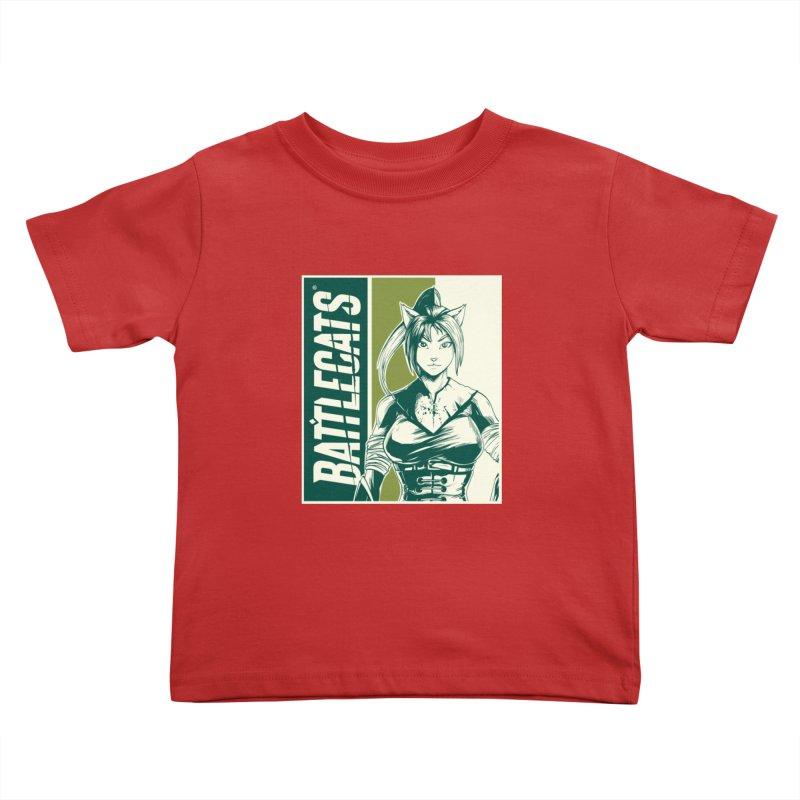 Battlecats - Kaleera Kids Toddler T-Shirt by MadCaveStudios's Artist Shop