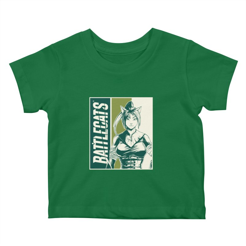Battlecats - Kaleera Kids Baby T-Shirt by Mad Cave Studios's Artist Shop
