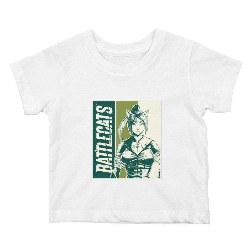 Battlecats - Kaleera Kids Baby T-Shirt by Mad Cave Studios's Artist Shop