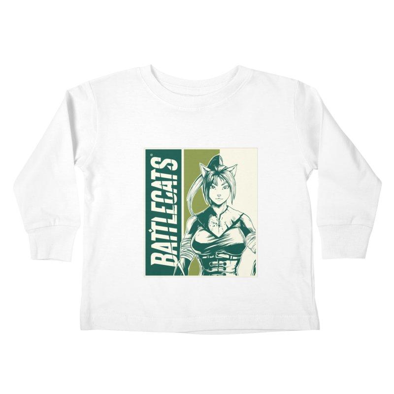 Battlecats - Kaleera Kids Toddler Longsleeve T-Shirt by Mad Cave Studios's Artist Shop