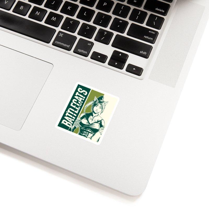 Battlecats - Kaleera Accessories Sticker by MadCaveStudios's Artist Shop