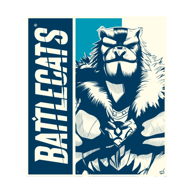 Battlecats - Kelthan Women's Zip-Up Hoody by Mad Cave Studios's Artist Shop