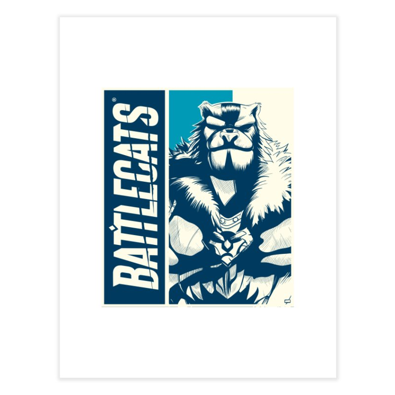 Battlecats - Kelthan Home Fine Art Print by Mad Cave Studios's Artist Shop