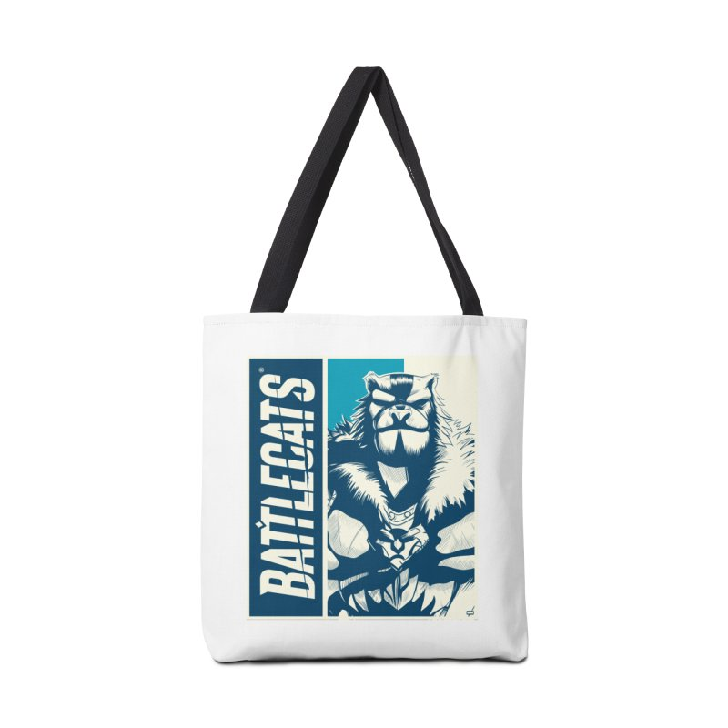 Battlecats - Kelthan Accessories Tote Bag Bag by Mad Cave Studios's Artist Shop