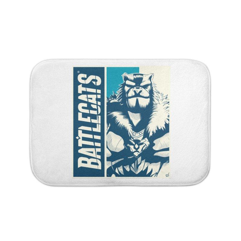 Battlecats - Kelthan Home Bath Mat by MadCaveStudios's Artist Shop