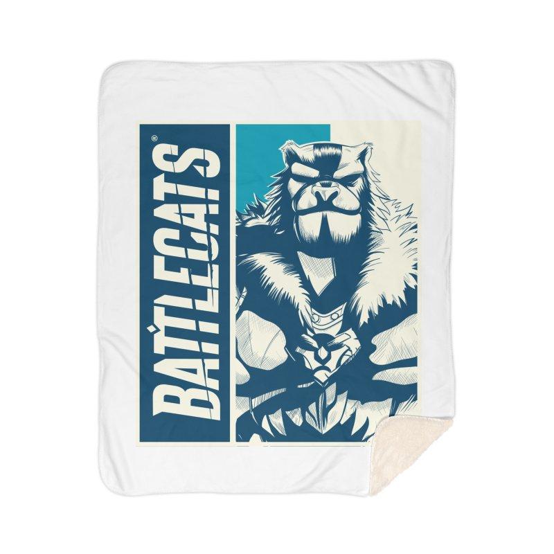 Battlecats - Kelthan Home Sherpa Blanket Blanket by Mad Cave Studios's Artist Shop