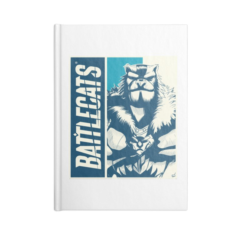 Battlecats - Kelthan Accessories Lined Journal Notebook by Mad Cave Studios's Artist Shop