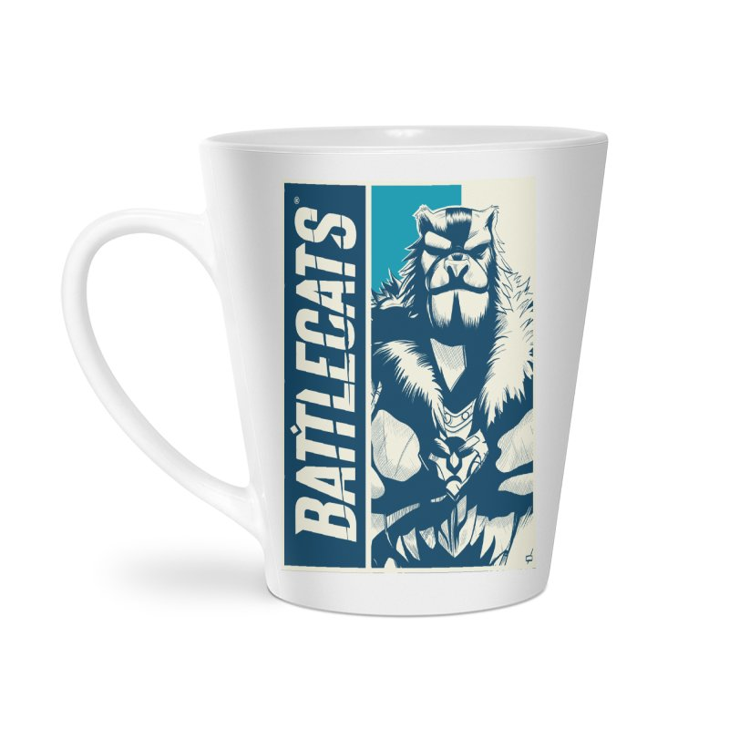 Battlecats - Kelthan Accessories Latte Mug by Mad Cave Studios's Artist Shop