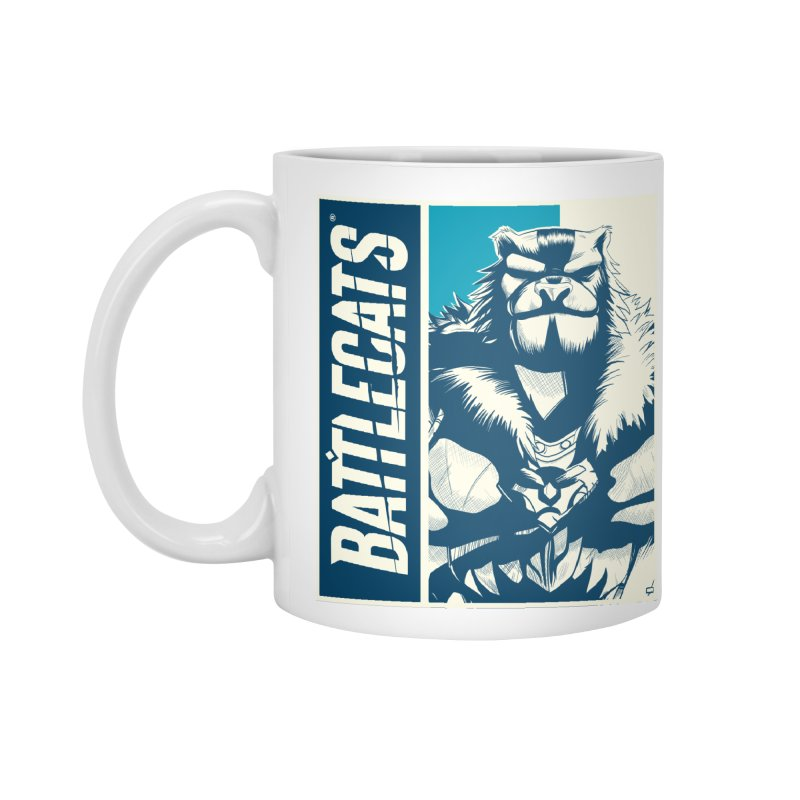 Battlecats - Kelthan Accessories Mug by Mad Cave Studios's Artist Shop