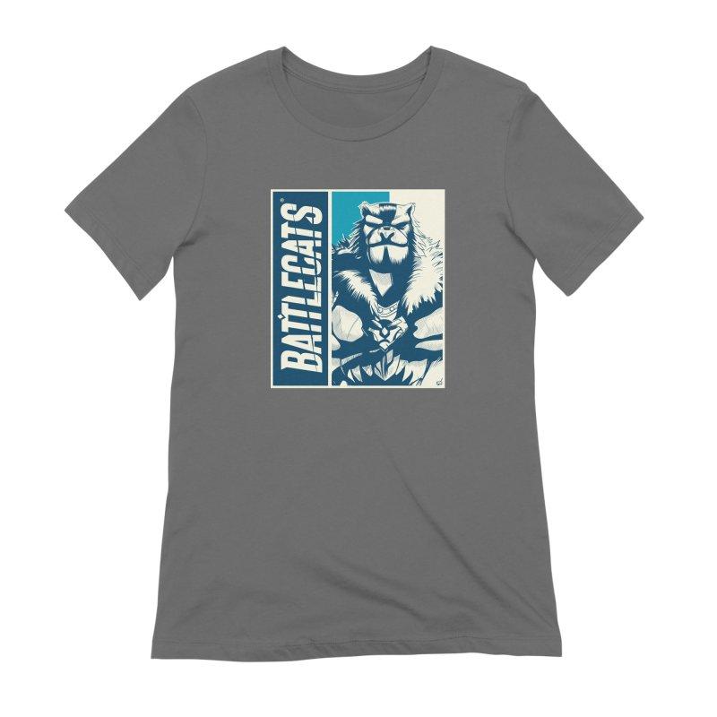 Battlecats - Kelthan Women's Extra Soft T-Shirt by Mad Cave Studios's Artist Shop